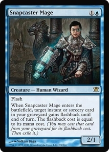 Magic the Gathering Innistrad Single Snapcaster Mage FOIL