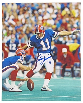 Scott Norwood Autographed Buffalo Bills 8x10 Football Photo