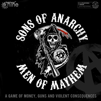 Sons of Anarchy: Men of Mayhem Board Game by Gale Force Nine - Regular Price $39.95 !!!