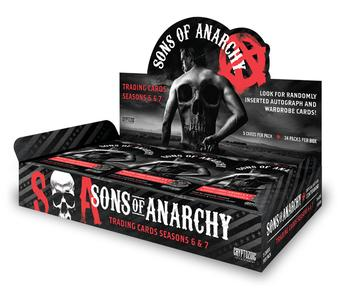 Sons of Anarchy Seasons 6-7 Trading Cards Box (Cryptozoic 2016) (Presell)