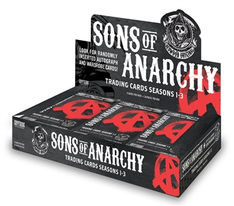 Sons of Anarchy Seasons 1-3 Trading Cards 12-Box Case (Cryptozoic 2014) (Presell)