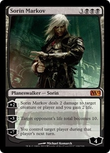 Magic the Gathering 2012 Single Sorin Markov UNPLAYED (NM/MT)