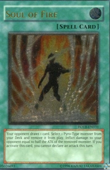 Yu-Gi-Oh Force of the Breaker Single Soul of Fire Ultimate Rare