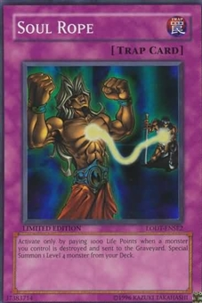 Yu-Gi-Oh Light of Destruction Single Soul Rope Super Rare