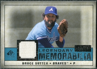 2008 Upper Deck SP Legendary Cuts Legendary Memorabilia Blue #BS Bruce Sutter /99