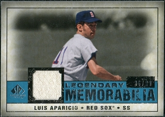 2008 Upper Deck SP Legendary Cuts Legendary Memorabilia Blue #LA Luis Aparicio /99