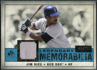 2008 Upper Deck SP Legendary Cuts Legendary Memorabilia Blue #RI Jim Rice /99
