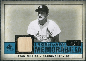2008 Upper Deck SP Legendary Cuts Legendary Memorabilia Blue #SM Stan Musial /99