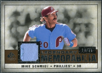 2008 Upper Deck SP Legendary Cuts Legendary Memorabilia Copper #MS2 Mike Schmidt /75