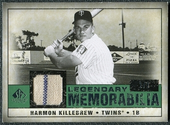 2008 Upper Deck SP Legendary Cuts Legendary Memorabilia Dark Green Parallel #HK Harmon Killebrew /3