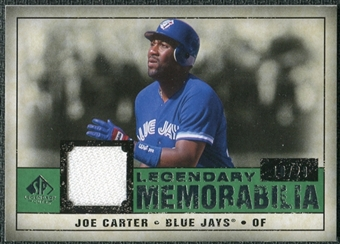 2008 Upper Deck SP Legendary Cuts Legendary Memorabilia Dark Green #JC Joe Carter /29