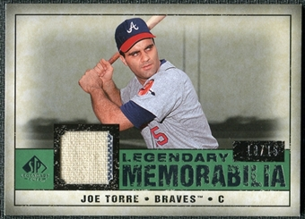 2008 Upper Deck SP Legendary Cuts Legendary Memorabilia Dark Green Parallel #JT Joe Torre /15