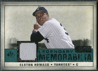 2008 Upper Deck SP Legendary Cuts Legendary Memorabilia Green #EH Elston Howard /99