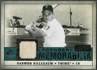 2008 Upper Deck SP Legendary Cuts Legendary Memorabilia Green #HK Harmon Killebrew /99