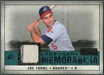 2008 Upper Deck SP Legendary Cuts Legendary Memorabilia Green Parallel #JT Joe Torre  /99