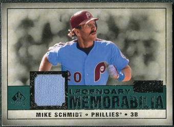 2008 Upper Deck SP Legendary Cuts Legendary Memorabilia Green #MS2 Mike Schmidt /99