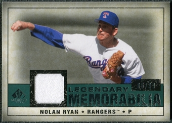 2008 Upper Deck SP Legendary Cuts Legendary Memorabilia Green #NR2 Nolan Ryan /99