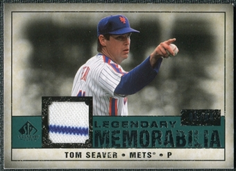2008 Upper Deck SP Legendary Cuts Legendary Memorabilia Green #TS Tom Seaver /99