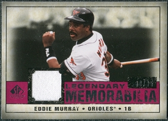 2008 Upper Deck SP Legendary Cuts Legendary Memorabilia Red Parallel #EM Eddie Murray /35