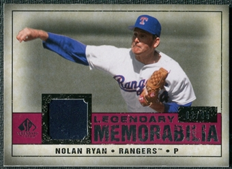 2008 Upper Deck SP Legendary Cuts Legendary Memorabilia Red Parallel #NR2 Nolan Ryan /35