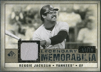2008 Upper Deck SP Legendary Cuts Legendary Memorabilia Taupe #RJ Reggie Jackson /10
