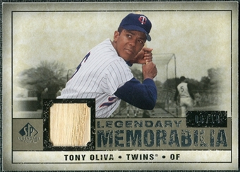 2008 Upper Deck SP Legendary Cuts Legendary Memorabilia Taupe #TO Tony Oliva /10