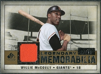 2008 Upper Deck SP Legendary Cuts Legendary Memorabilia #WM Willie McCovey /25