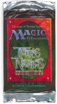 Magic the Gathering Homelands Booster Pack (Spanish)