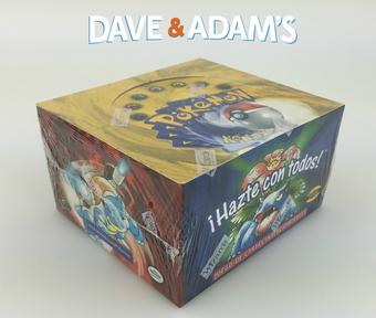 Pokemon Base Set 1 Spanish Booster Box