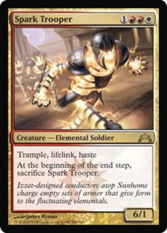 Magic the Gathering Gatecrash Single Spark Trooper UNPLAYED (NM/MT)