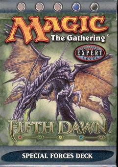 Magic the Gathering Fifth Dawn Special Forces Precon Theme Deck