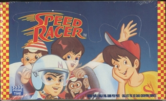 1993 Prime Time Speed Racer Trading Card Box