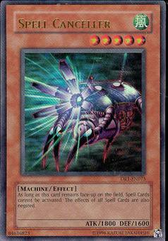 Yu-Gi-Oh Dark Revelation Single Spell Canceller Ultra Rare (DR1-075)