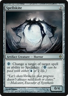 Magic the Gathering New Phyrexia Single Spellskite FOIL