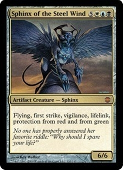 Magic the Gathering Alara Reborn Single Sphinx of the Steel Wind FOIL