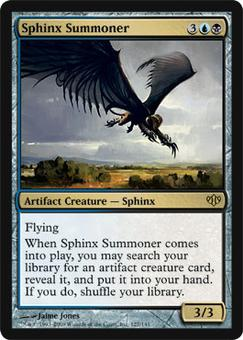 Magic the Gathering Conflux Single Sphinx Summoner - NEAR MINT (NM)