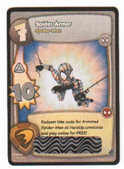 Marvel Super Hero Squad Foundation Single Spider Armor Loot Card