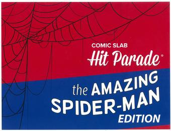 Comic Slab Hit Parade The Amazing Spider-Man Edition Hobby Box