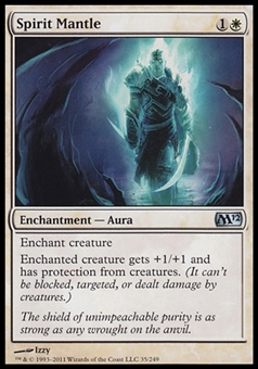 Magic the Gathering 2012 Single Spirit Mantle FOIL - NEAR MINT (NM)