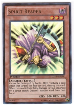 Yu-Gi-Oh Legendary Collection 3 1st Edition Single Spirit Reaper Ultra Rare