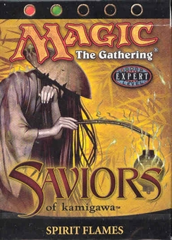 Magic the Gathering Saviors of Kamigawa Precon Theme Deck Spirit Flames