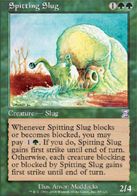 Magic the Gathering Time Spiral Single Spitting Slug - NEAR MINT (NM)