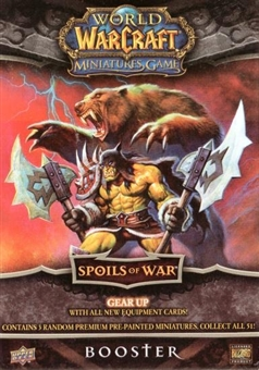 World of Warcraft Miniatures Spoils of War Booster Pack
