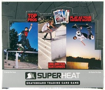 Super Heat Throwdown Skateboard Trading Card Booster Box