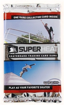 Super Heat Throwdown Skateboard Trading Card Booster Pack