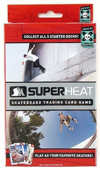 Super Heat Throwdown Skateboard Trading Card Starter Deck #1