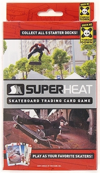 Super Heat Throwdown Skateboard Trading Card Starter Deck #2