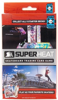 Super Heat Throwdown Skateboard Trading Card Starter Deck #3