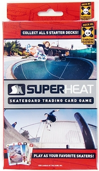 Super Heat Throwdown Skateboard Trading Card Starter Deck #4