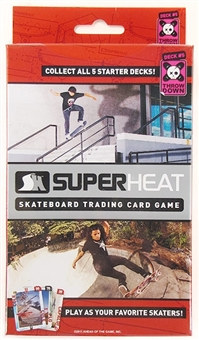 Super Heat Throwdown Skateboard Trading Card Starter Deck #5